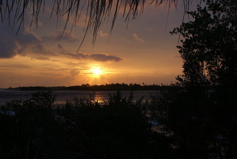 Malediven Sonnenuntergang Chaaya Island Dhonveli