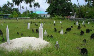 Malediven Friedhof