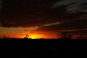 Sonnenaufgang Outback