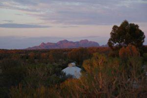 Australien Kata Tjuta Morgendämmerung