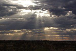 Abendstimmung Outback