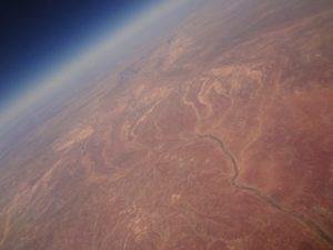Flug über das Outback