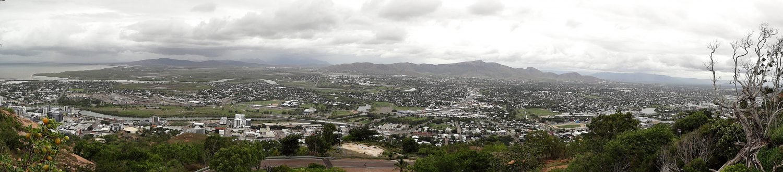 Blick über Townsville