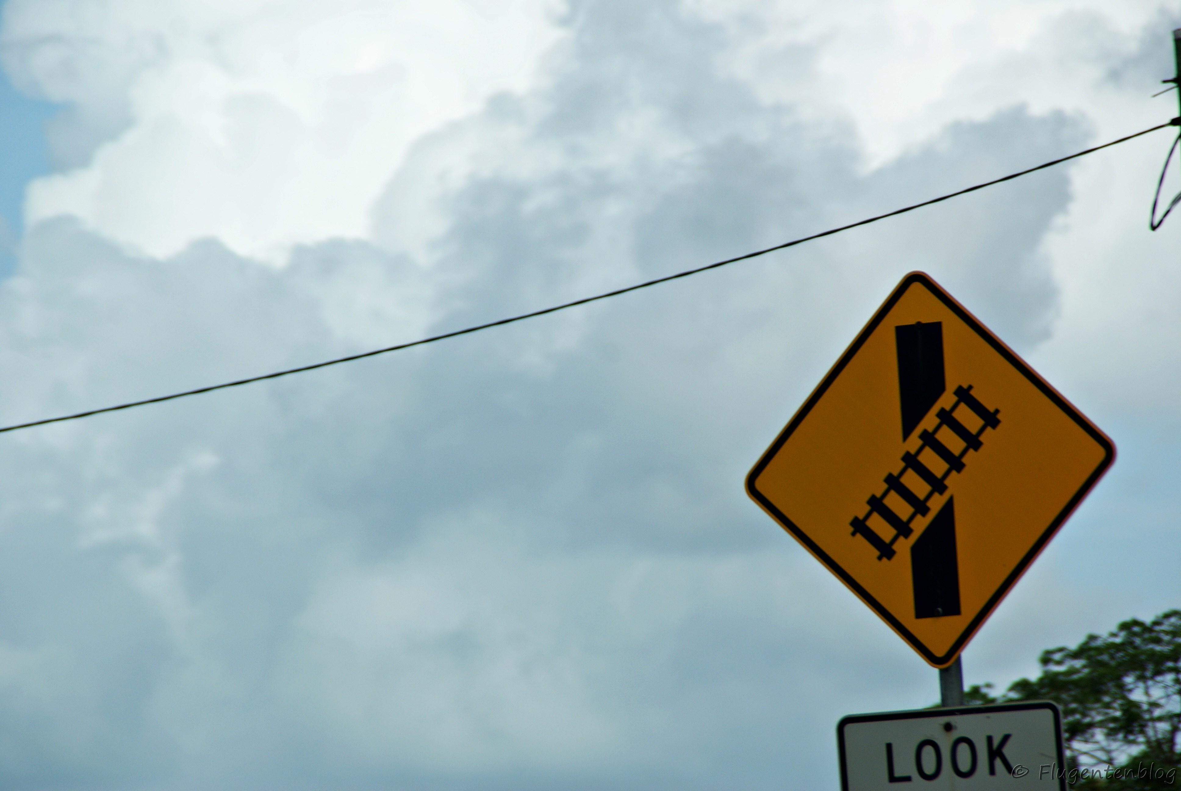 Australien Verkehrszeichen