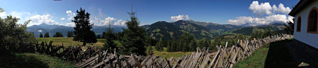 Salzburger Almenweg Goldegg Hirtenkapelle