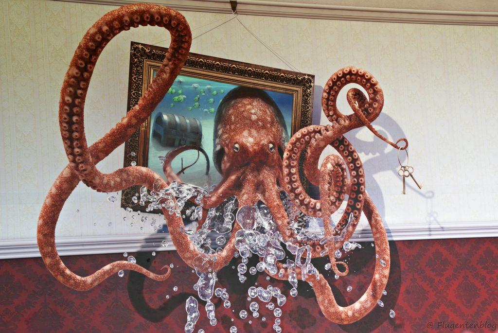 Oktopus im Curious Corner