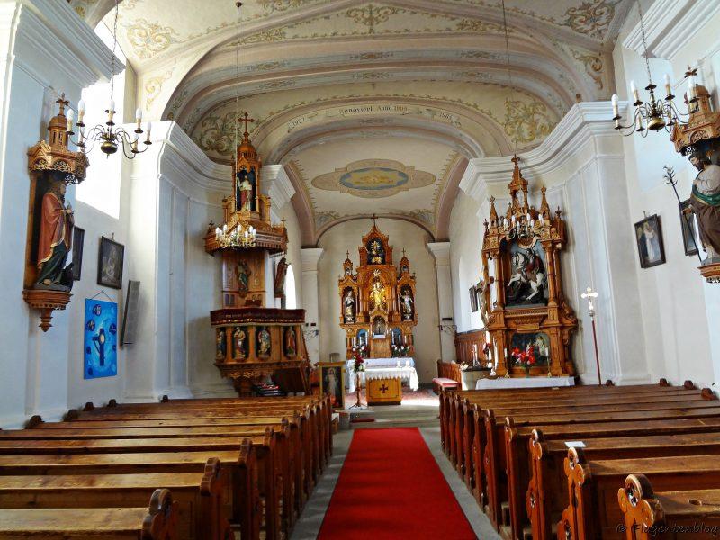 Mühlviertel Johannesweg Kaltenberg Kirche Wandern
