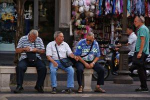 Männer Sizilien