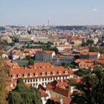 Prag Ausblick Burg