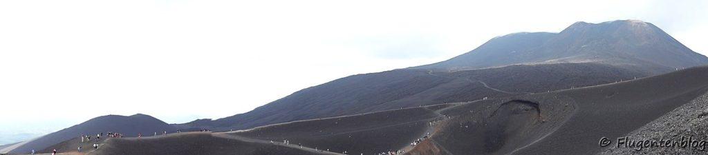 Mongibello Ätna Vulkan