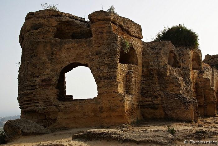Agrigento Tempel Stadtmauer