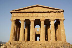 Condordia Tempel Agrigento