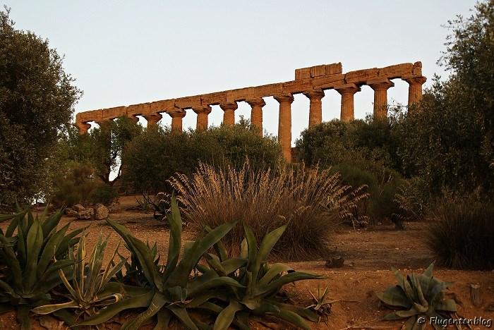 Agrigento Hera Tempel