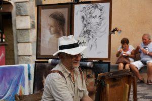 Künstler Taormina