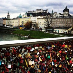 Salzburg Liebesbrücke
