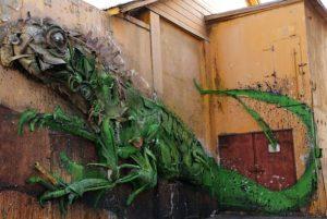 Aruba San Nicolas Streetart