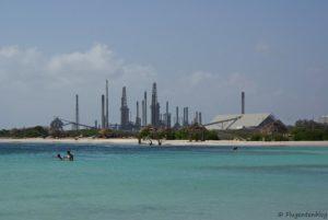 Ölraffinerie Baby Beach Aruba