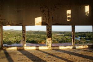 Balashi Goldmine Ruine Aruba