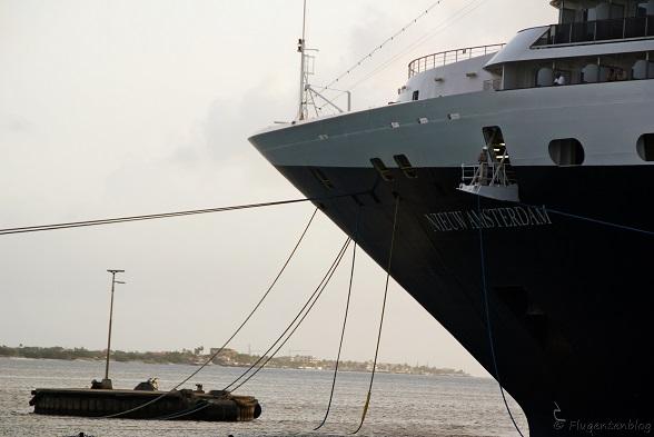 Bonaire Kreuzfahrtschiff