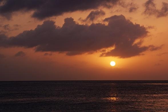 Bonaire Sonnenuntergang