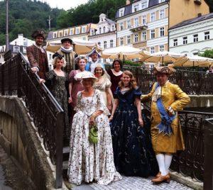 Tschechien Karneval Kostuemball