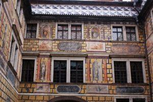 Krumau Tschechien Burg Schloss
