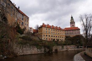 Tschechien Krumau Schloss