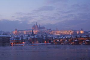 Prag Burg Karlsbruecke