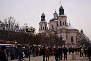 Advent Prag Kirche St. Nikolaus