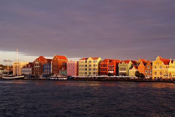 Curacao Hauptstadt Willemstad Handelskade