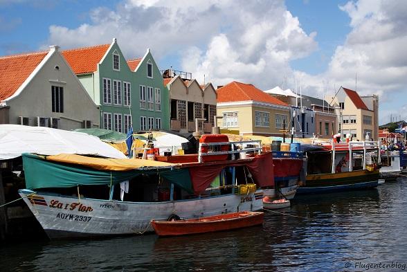 Willemstad Schwimmender Markt