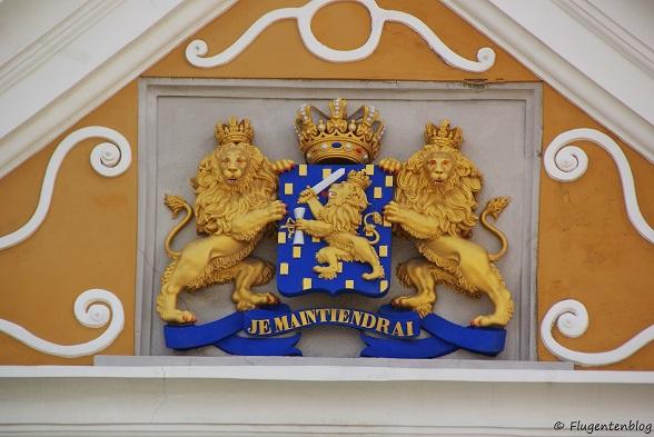 Willemstad Stadhuis Wappen Oranien