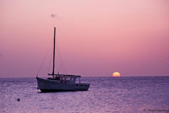 Curacao Sonnenuntergang