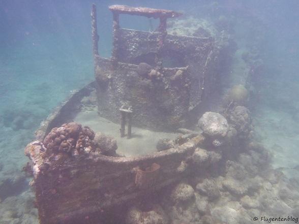 Curacao Caracasbaai Schiffswrack