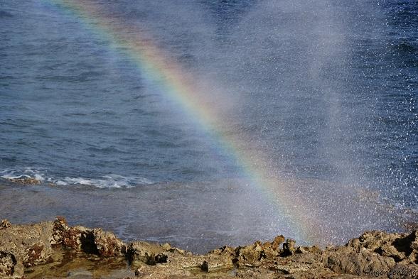Regenbogen Wasser