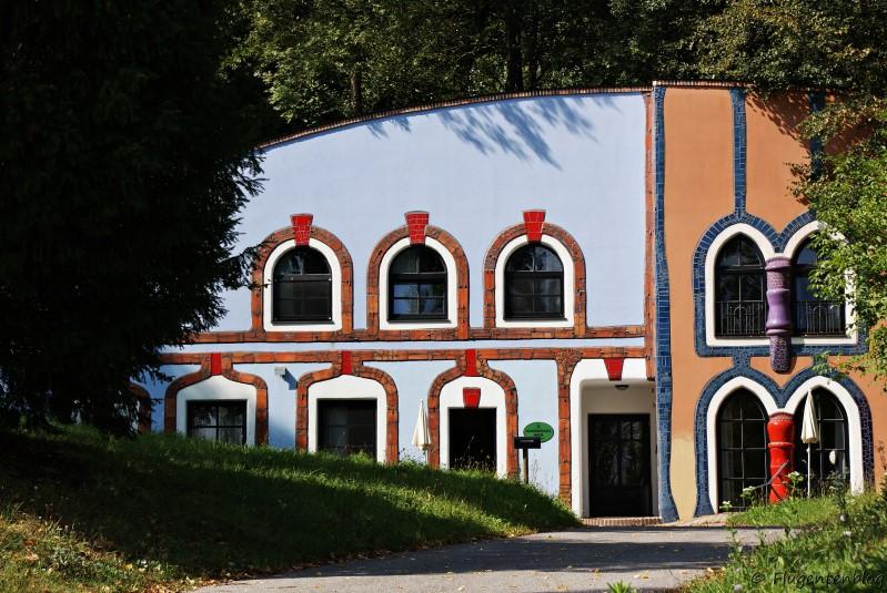 Bad Blumau Augenschlitzhaus