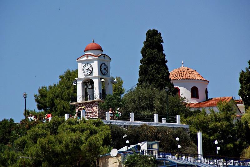Skiathos Stadt Ajios Nikolaos
