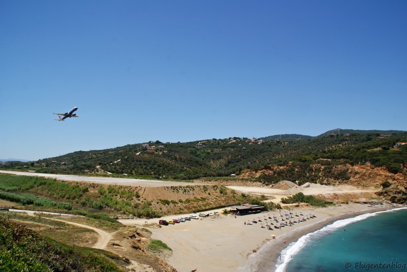 Griechenland Skiathos Xanemo Beach