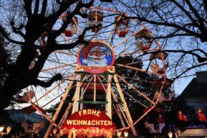 Wien Christkindlmarkt Altes AKH