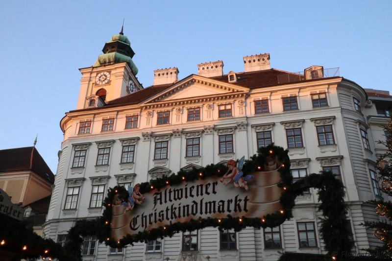 Wien Christkindlmarkt Freyung