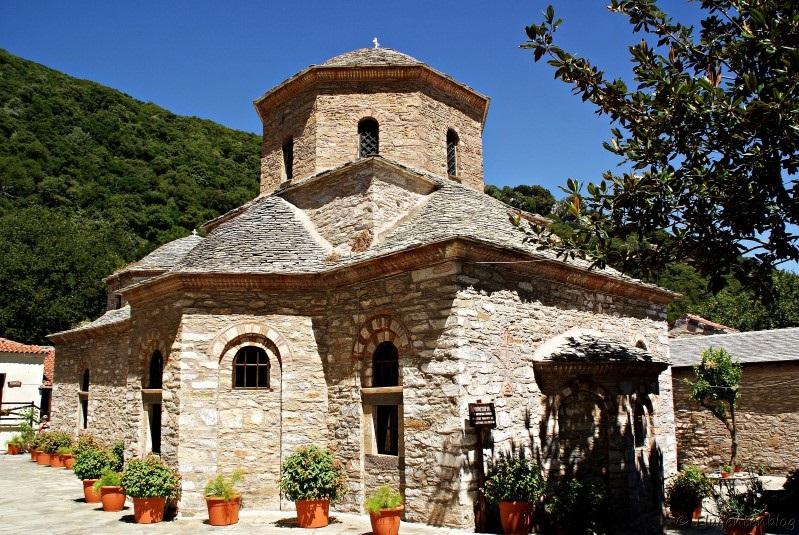 Kloster Evangelistrias Skiathos Griechenland