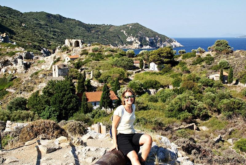 Skiathos Kastro Griechenland