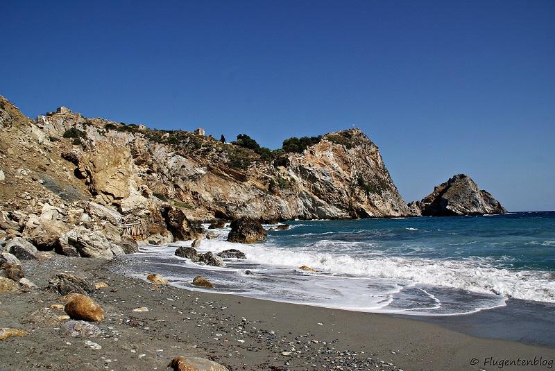 Skiathos Kastro Beach