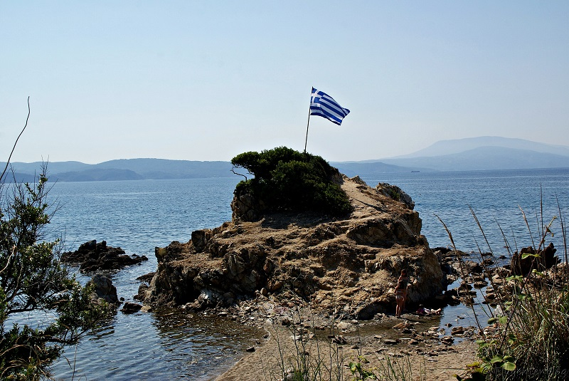 Griechenland Skiathos Strand Kechria Beach