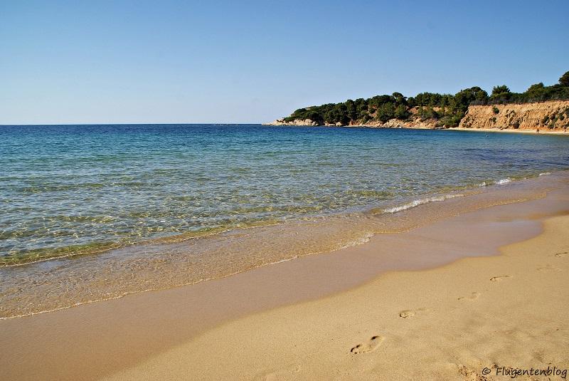 Skiathos Straende Mandraki Beach