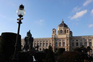 Wien Naturhistorisches Museum Maria Theresien Platz Christkindmarkt