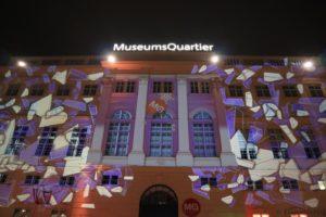Wien Museumsquartier Weihnachtsmarkt