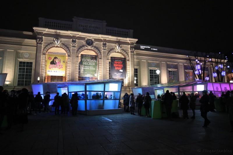 Wien Christkindlmärkte Museumsquartier MQ 2017