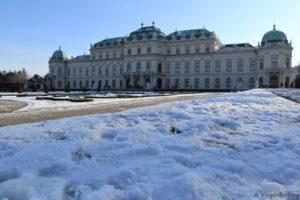 Wien Oberes Schloss Belvedere