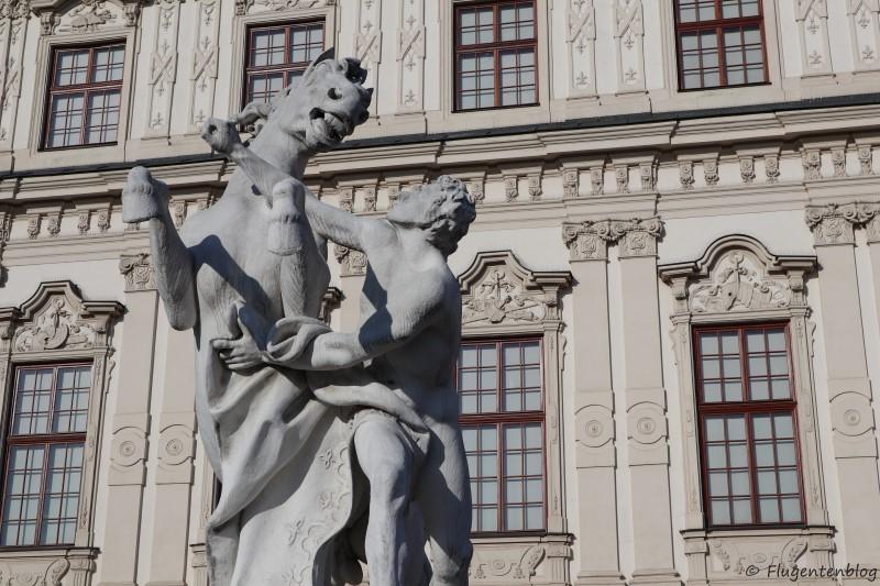 Wien Schloss Belvedere Statue